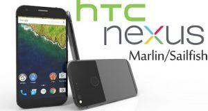 HTC Nexus Salfish e Marlin