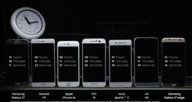 Samsung Galaxy S7 vs tutti