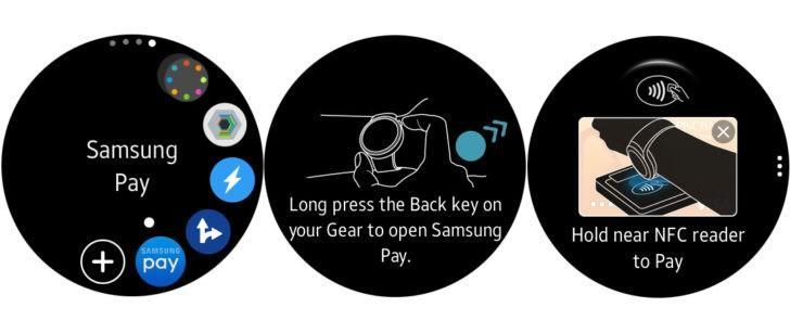 Samsung Pay su Samsung Gear S2 (1)