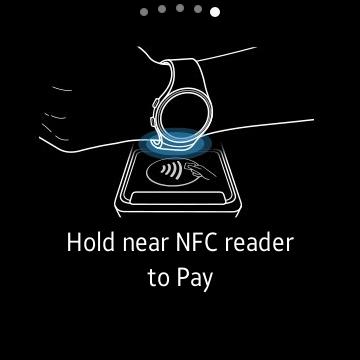 Samsung Pay su Samsung Gear S2