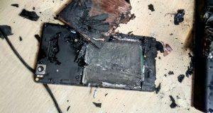 Xiaomi Mi4i esploso