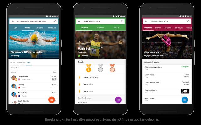 Google Now Rio 2016
