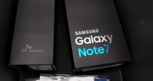 Samsung, stop alla vendita del Galaxy Note 7