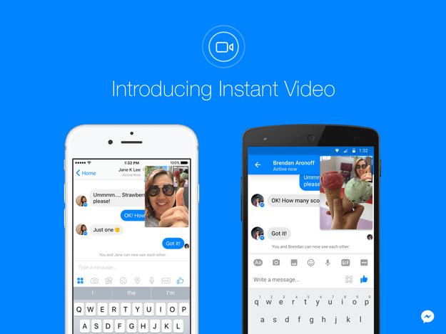 Facebook Messenger Instan Video