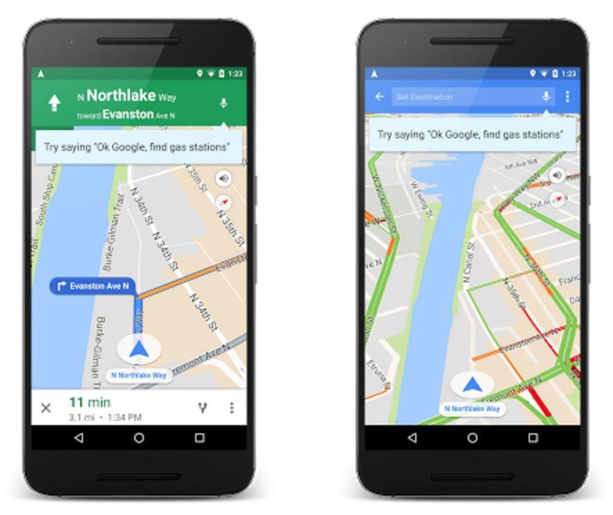 Google Maps, il navigatore diventa anche vocale