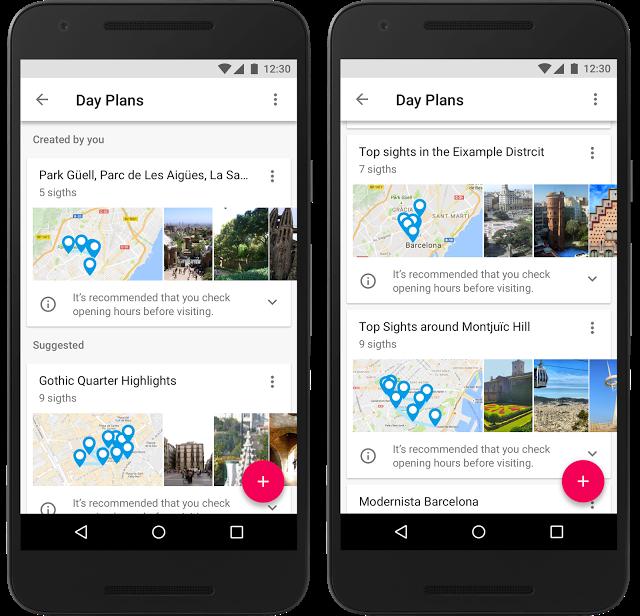 Google Trips, la nuova applicazione utile per chi viaggia
