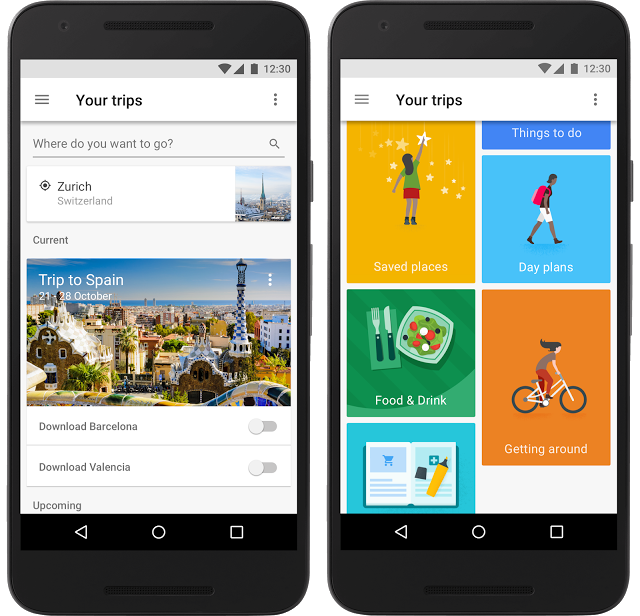 Google Trips, guida per le vacanze ma anche concierge