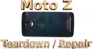 Motorola Moto Z Teardown