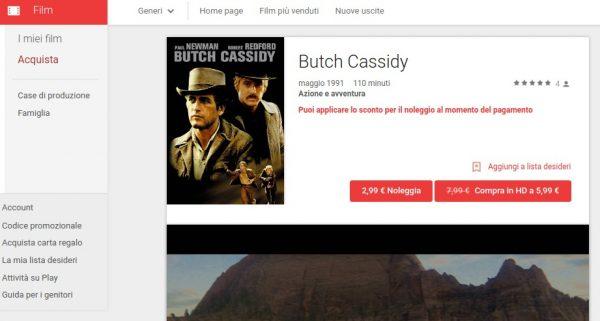 Butch Cassidy   Film su Google Play