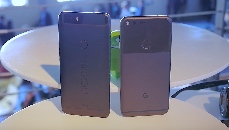 Google Pixel XL vs Nexus 6P