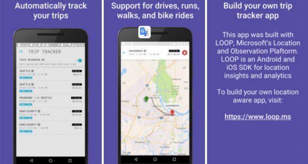 Microsoft Trip Tracker