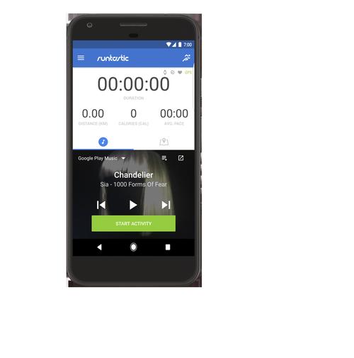 Runtastic Google Play Music