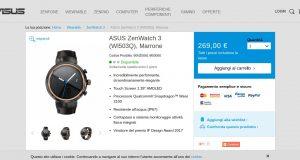 ASUS Shop – ASUS ZenWatch 3  WI503Q   Marrone   ZenWatch 3   Wearable