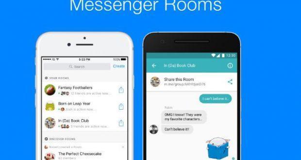 Facebook Messenger chat room