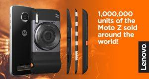 Lenovo ha venduto 1 milioni di Motorola Moto Z
