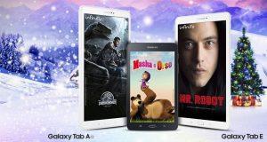 Acquistando un Samsung Galaxy Tab A 2016 o Galaxy Tab E, 1 anno di Infinity gratis