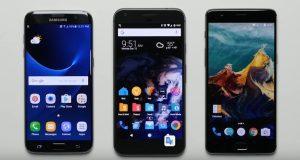 OnePlus 3T vs Samsung Galaxy S7 Edge vs Google Pixel XL