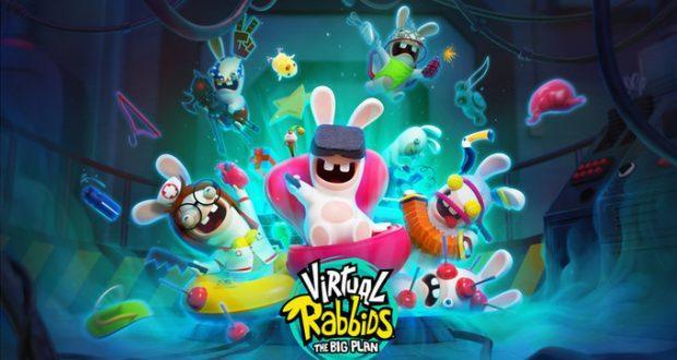 Google Daydream VR Virtual Rabbits