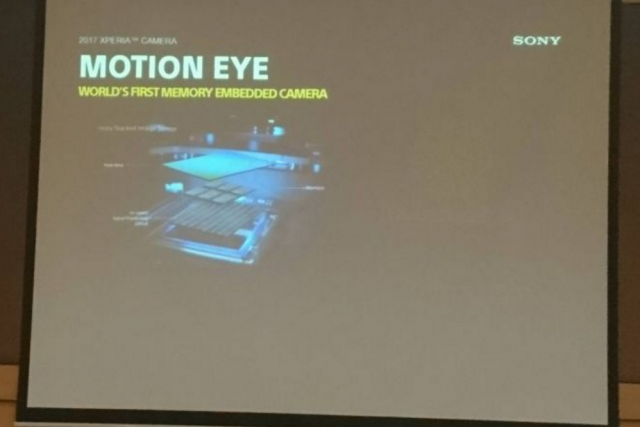 Sony Xperia Motion Eye