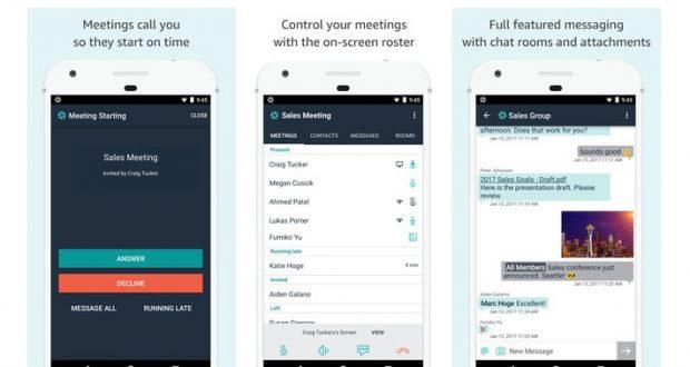 Amazon Chime, la nuova app per videoconferenze che sfida Skype