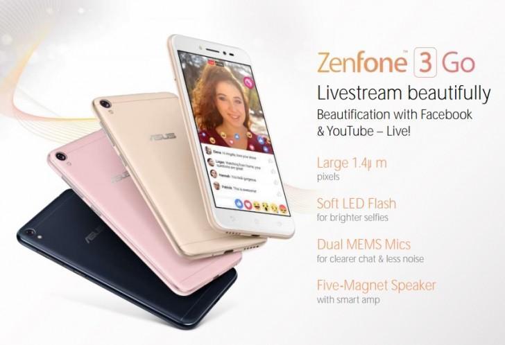 ASUS ZenFone 3 Go: ecco le presunte specifiche con tanto di render