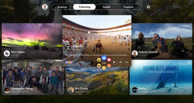 Facebook 360: Il Social Network in VR