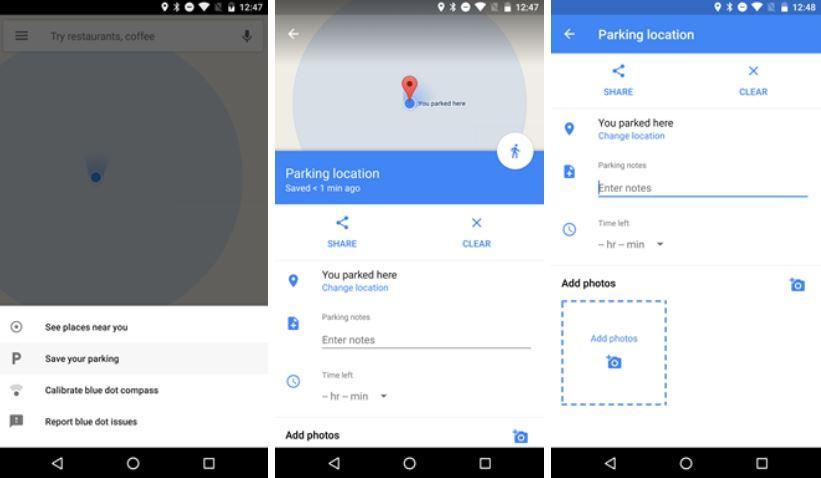Google Maps consente la condivisione di viaggi e posizione in tempo reale