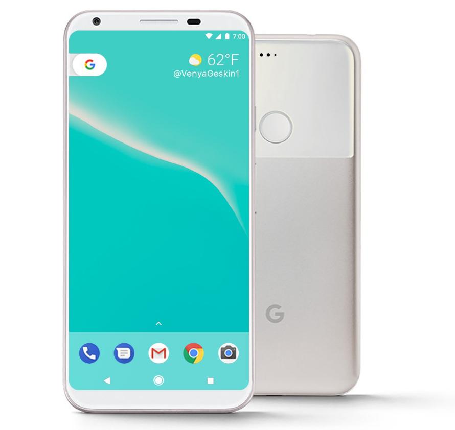 Google pixel 2 e le ultime informazioni emerse online for Smartphone ultime uscite