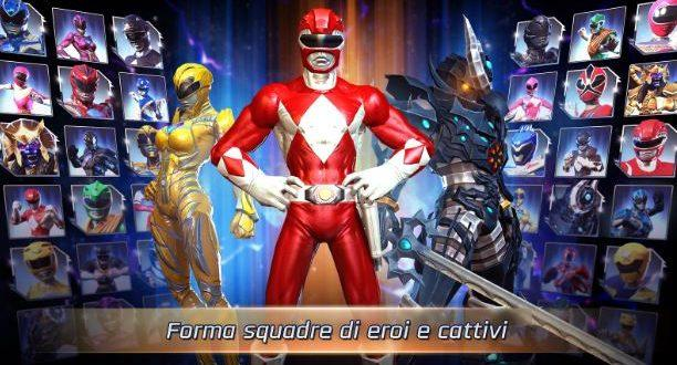 Power Rangers: Legacy Wars disponibile sul Play Store