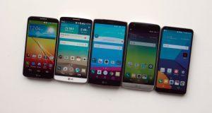 come si sono evoluti gli smartphone LG