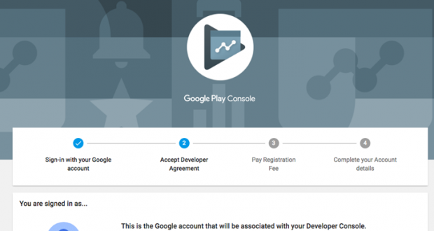 Google Play Console Material Design
