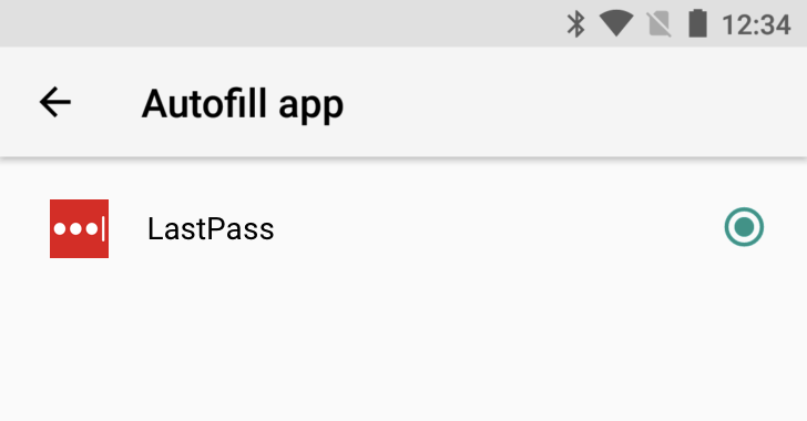 LastPass Android O