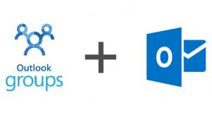 Microsoft Outlook e Outlook Groups