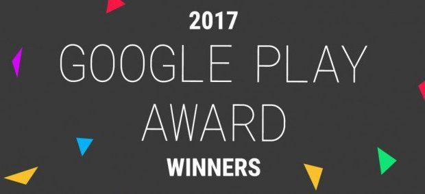 Google Play Award 2017