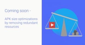 Google ottimizzazione peso APK