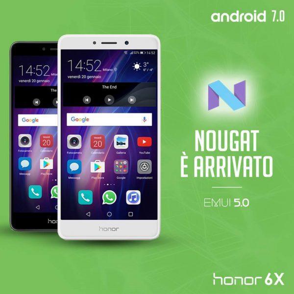 Honor 6X Nougat