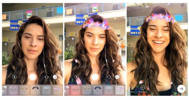 Filtri AR, video inversi, gomma magica, hashtag sulle Storie — Instagram