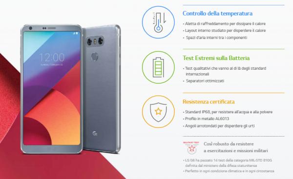 LG G6 infografia
