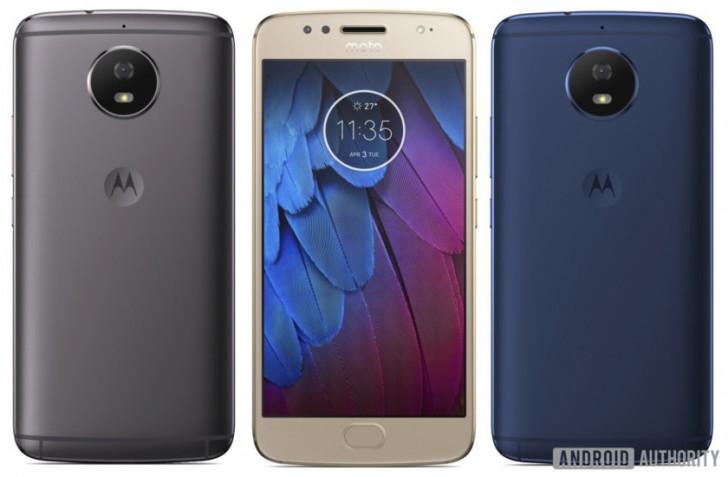 Moto G5S, prime immagini