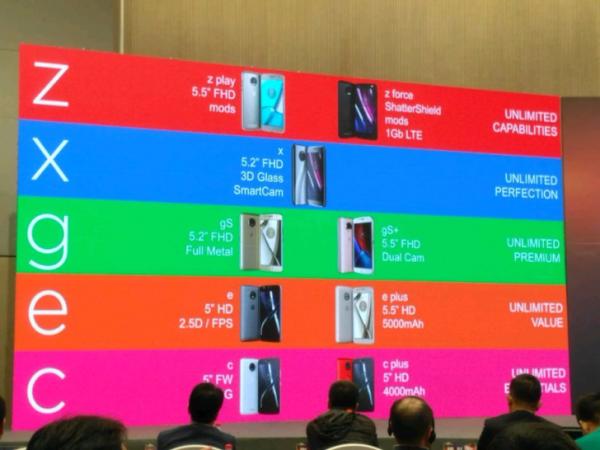 Motorola nuova lineup di smartphone 2017