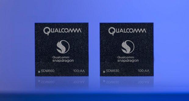 Qualcomm Snapdragon 660 e 630