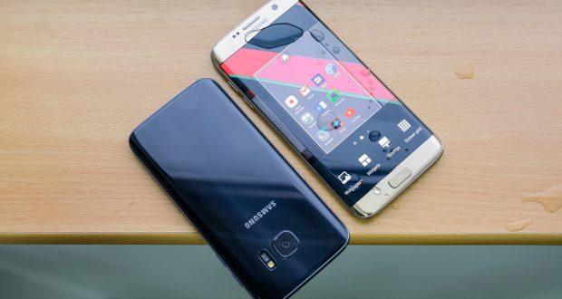 Il Samsung Galaxy S7 Edge premiato per il suo display