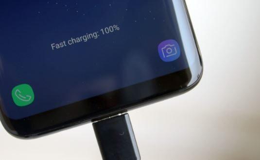 Samsung Galaxy S8 ricarica rapida