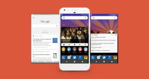 Nova Launcher Companion Google Now
