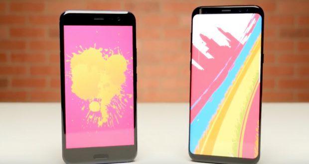 HTC U11 vs Samsung Galaxy S8 Plus