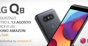 LG Q8 promozione Aamzon