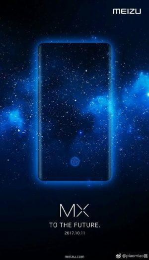 Meizu MX7 sensore impronte sotto il display