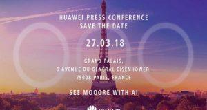Huawei P20 invito