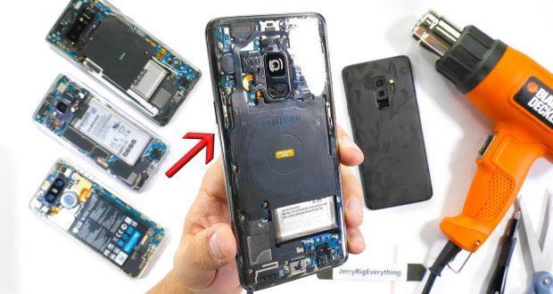 Samsung Galaxy S9 scocca trasparente