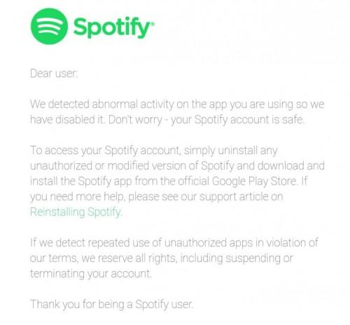 Spotify chiuderà e bloccherà migliaia di account, ecco per quale motivo